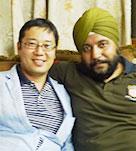 財団インド事業提携ハルプレート・シン氏と